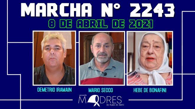 Marcha N° 2243 – 08/04/21