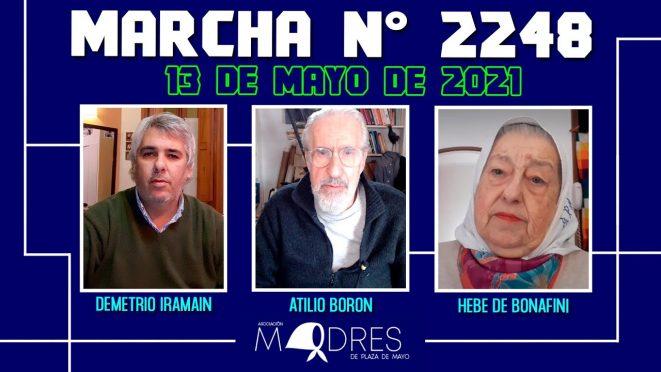 Marcha N° 2248 – 13/05/21