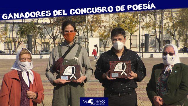 Entrega de premios al los ganadores del concurso de poesía de las Madres