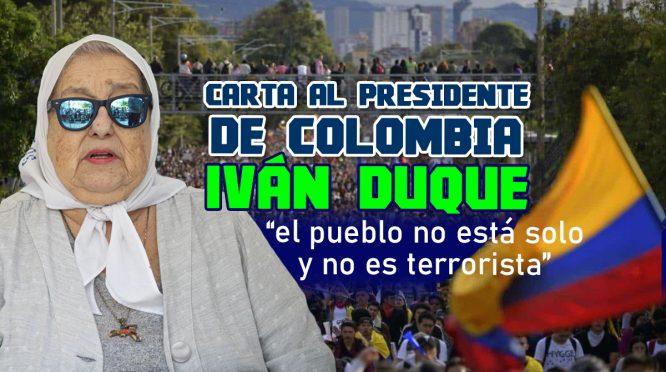 Al presidente de Colombia, Iván Duque