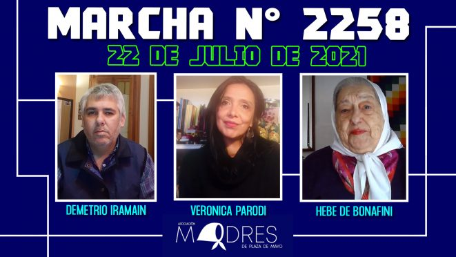 Marcha N° 2258 – 22/07/21