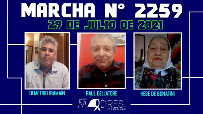 Marcha N° 2259 – 29/07/21